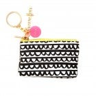 ban.do Zip Zip Key Chain Pouch Frills