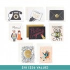 Rifle Paper Co. Birchbox Favorites Assorted Card Set