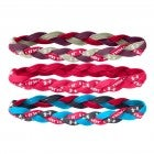 Under Armour Braided Mini Headbands - 3 Pack
