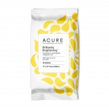 Acure Organics Brilliantly Brightening™ Coconut Cleansing Towelettes