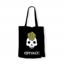 Spend $50+, get a free amika Skull Tote Bag