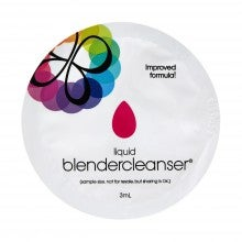 With any purchase, get a free beautyblender® liquid blendercleanser® packette