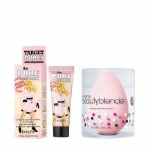 Benefit Cosmetics The POREfessional Pearl Primer & beautyblender® bubble duo