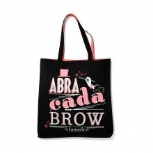 Spend $50+, get a free Benefit Cosmetics Brow Tote Bag
