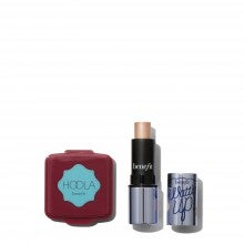 Spend $35+, get a free Benefit Hoola Matte Bronzer and Watt's Up! Highlighter deluxe sample duo