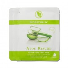 BioRepublic Skincare Aloe Rescue Revitalizing Fiber Mask Set