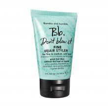 Spend $50+, get a free travel-size Bumble and bumble. Don't Blow It (H)air Styler - Fine