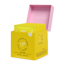 Busy Co Glow Brightening Facial Serum Pads
