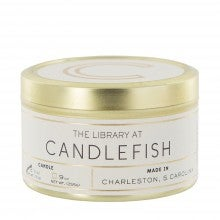 Spend $35+, get a free Candlefish Candle Tin in Woods