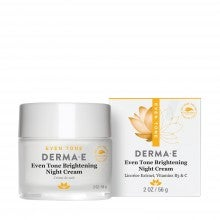 derma e® Even Tone Brightening Night Cream