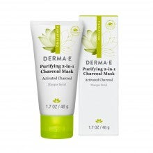 derma e® Purifying 2-in-1 Charcoal Mask