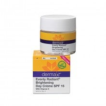 derma e® Evenly Radiant® Brightening Day Crème SPF15