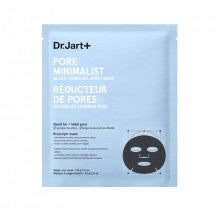 Dr. Jart+ Pore Minimalist Black Charcoal Sheet Mask 1X