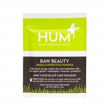 Spend $25+, get a free HUM Nutrition Raw Beauty Green Superfood Powder sample