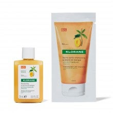 Spend $25+, get a free Klorane Shampoo with Mango Butter - For Dry Hair sample and Klorane Conditioning Balm packette