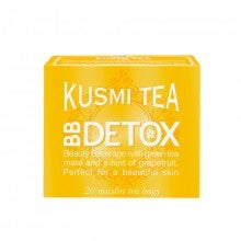 Kusmi Tea Paris Beauty Beverage Detox Box of 20 Muslin Tea Bags