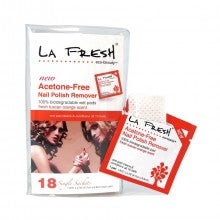 LA FRESH® Eco Beauty Acetone-Free Nail Polish Remover - Individual Packets (18 count)