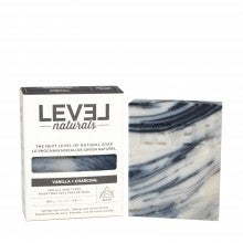 Level Naturals Vanilla + Charcoal Soap