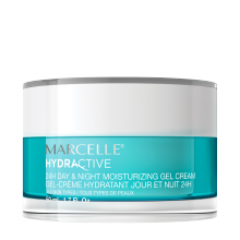 Marcelle Hydractive 24H Day & Night Moisturizing Gel Cream - All Skin Types 50mL