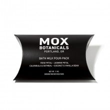 Mox Botanicals Bath Milk Four-Pack