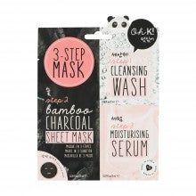 Oh K! 3-Step Charcoal Sheet Mask
