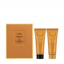 Spend $75+, get a free Oribe Head to Toe Kit
