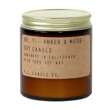 P.F. Candle Co. Soy Candle - 3.5 oz. - Amber & Moss
