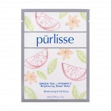 Spend $35+, get a free Pūrlisse Green Tea + Vitamin C Brightening Sheet Mask