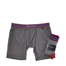Related Garments Athletic Boxer Brief + Sock Set