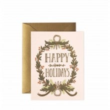 Spend $30+, get a free Rifle Paper Co. Holiday Card