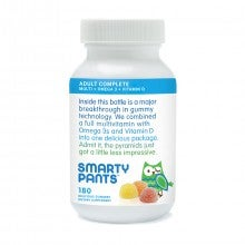 SmartyPants All-in-One Gummy Vitamins for Adults