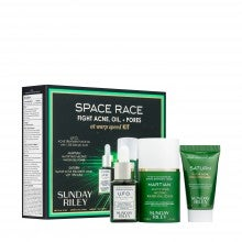 Sunday Riley Space Race: Fight Acne, Oil + Pores at Warp Speed Kit