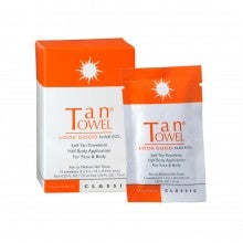 TanTowel® Classic Formula Self-Tan Towelettes Half Body