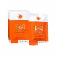 TanTowel® Plus Formula Self-Tan Towelettes Half Body