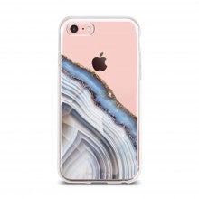 Aces Only: Spend $50+, get a free The Casery iPhone 6/7 Case in Light Blue Agate
