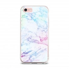 Aces Only: Spend $50+, get a free The Casery iPhone 6/7 Case in Rainbow Marble