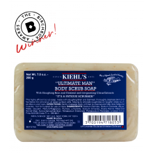 Kiehl's Ultimate Man Body Scrub Soap - AWARD