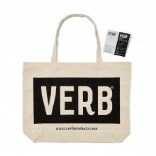 Spend $50+, get a free VERB Tote Bag and Ghost Shampoo™ and Conditioner™ packette duo