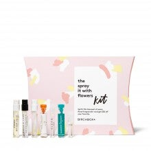 Spend $50+ on fragrance, get a free The Spray It With Flowers Kit