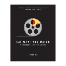 Spend $50+, get a free W&P Eat What You Watch: A Cookbook for Movie Lovers
