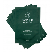 The Wolf Project Hydrating Face Mask Sheet - 5 Pack