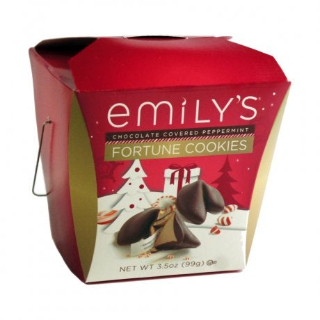 Emily S Chocolate Covered Fortune Cookies