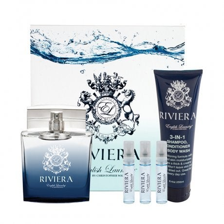 English laundry riviera 5 piece gift set for Place setting images