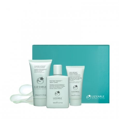 Our 3-step cleanse, tone and moisturise routine lies at the heart of our range – forming the foundation of beautiful skin. Expertly formulated, our daily trio works together to deliver genuine, visible results, helping to improve texture and tone so skin looks and feels more balanced.