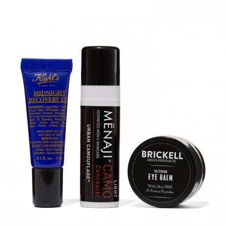 Receive a free 3-piece bonus gift with your $65 Full Size Products from Man Shop purchase