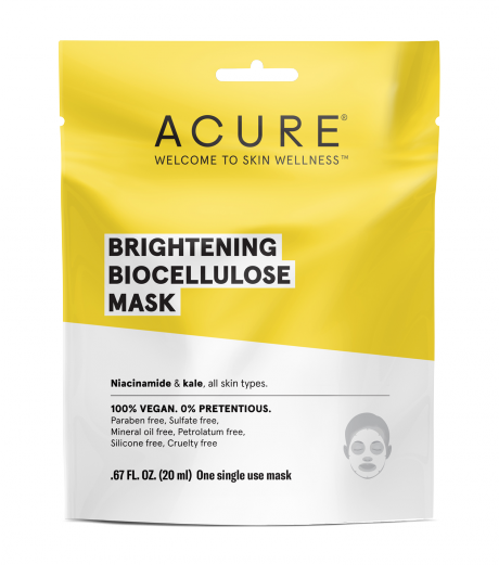 Acure Brightening Biocellulose Sheet Mask