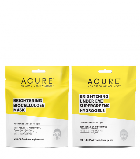 Spend $35+, Get A Free Acure Brightening Mask Duo