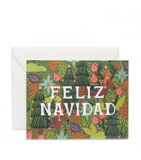 rifle paper co holiday greeting card set