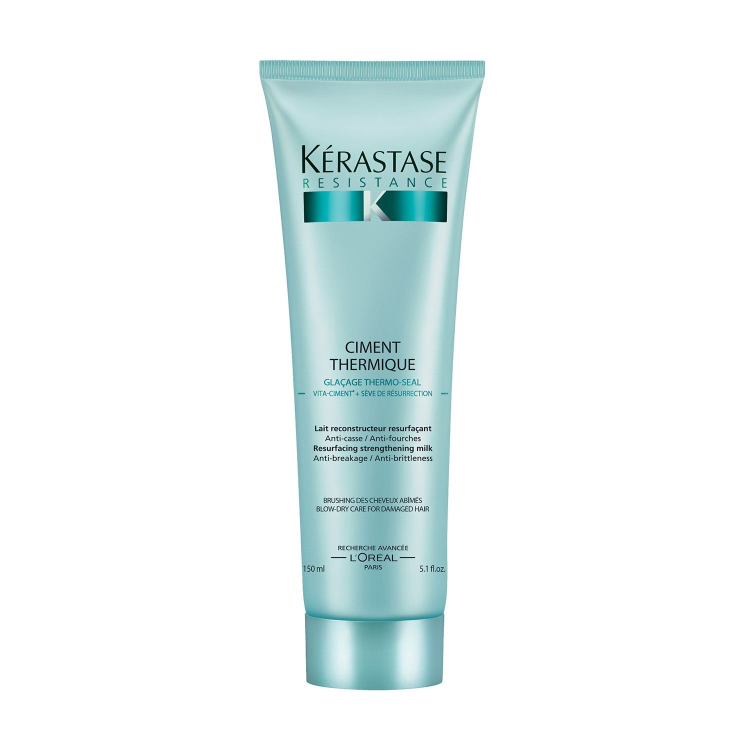 k rastase r sistance ciment thermique blow dry primer for weak hair. Black Bedroom Furniture Sets. Home Design Ideas