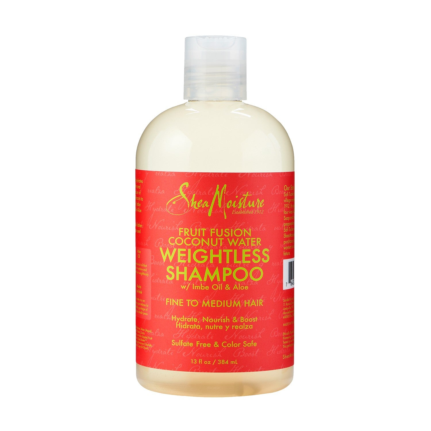 sheamoisture fruit fusion coconut water weightless shampoo